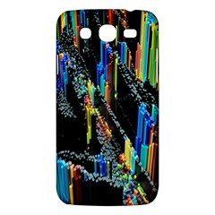 Abstract 3d Blender Colorful Samsung Galaxy Mega 5.8 I9152 Hardshell Case