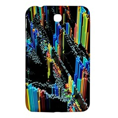 Abstract 3d Blender Colorful Samsung Galaxy Tab 3 (7 ) P3200 Hardshell Case