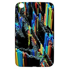 Abstract 3d Blender Colorful Samsung Galaxy Tab 3 (8 ) T3100 Hardshell Case