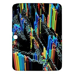 Abstract 3d Blender Colorful Samsung Galaxy Tab 3 (10 1 ) P5200 Hardshell Case