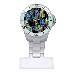 Abstract 3d Blender Colorful Plastic Nurses Watch