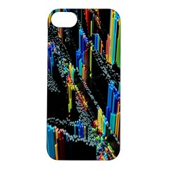 Abstract 3d Blender Colorful Apple iPhone 5S/ SE Hardshell Case