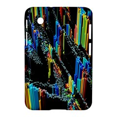 Abstract 3d Blender Colorful Samsung Galaxy Tab 2 (7 ) P3100 Hardshell Case