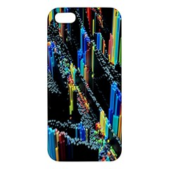 Abstract 3d Blender Colorful iPhone 5S/ SE Premium Hardshell Case