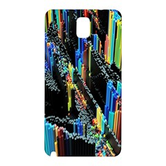 Abstract 3d Blender Colorful Samsung Galaxy Note 3 N9005 Hardshell Back Case