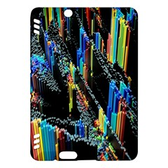 Abstract 3d Blender Colorful Kindle Fire HDX Hardshell Case