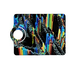 Abstract 3d Blender Colorful Kindle Fire HD (2013) Flip 360 Case