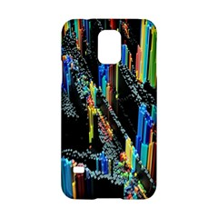 Abstract 3d Blender Colorful Samsung Galaxy S5 Hardshell Case