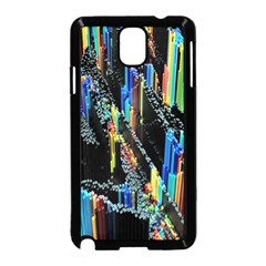 Abstract 3d Blender Colorful Samsung Galaxy Note 3 Neo Hardshell Case (Black)