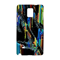 Abstract 3d Blender Colorful Samsung Galaxy Note 4 Hardshell Case