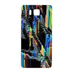 Abstract 3d Blender Colorful Samsung Galaxy Alpha Hardshell Back Case