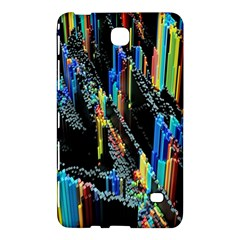 Abstract 3d Blender Colorful Samsung Galaxy Tab 4 (8 ) Hardshell Case
