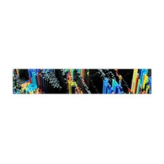 Abstract 3d Blender Colorful Flano Scarf (mini)
