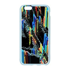 Abstract 3d Blender Colorful Apple Seamless iPhone 6/6S Case (Color)