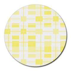 Pattern Round Mousepads