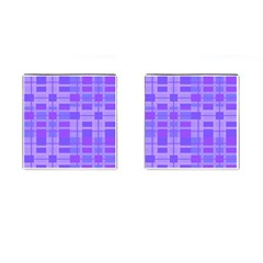 Pattern Cufflinks (Square)