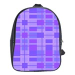 Pattern School Bags(Large)  Front