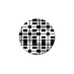 Pattern Golf Ball Marker (4 pack)