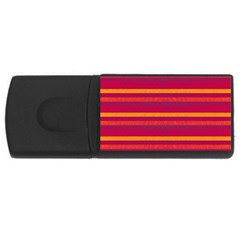 Lines USB Flash Drive Rectangular (2 GB)