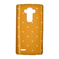 Mages Pinterest White Orange Polka Dots Crafting Lg G4 Hardshell Case