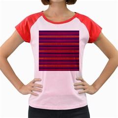 Lines Women s Cap Sleeve T-Shirt
