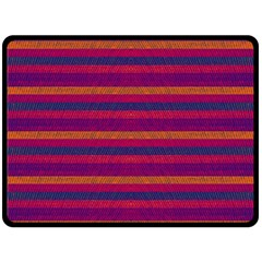 Lines Double Sided Fleece Blanket (large)