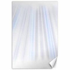 Layer Light Rays Purple Blue Canvas 20  X 30