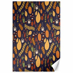 Macaroons Autumn Wallpaper Coffee Canvas 20  X 30