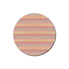 Lines Rubber Coaster (Round)