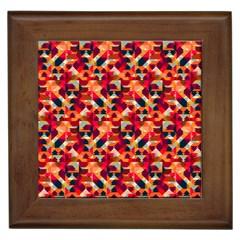 Modern Graphic Framed Tiles