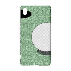 Golf Image Ball Hole Black Green Sony Xperia Z3+