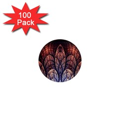 Abstract Fractal 1  Mini Magnets (100 Pack)
