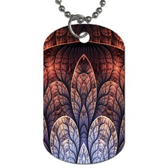 Abstract Fractal Dog Tag (One Side)