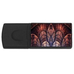 Abstract Fractal USB Flash Drive Rectangular (2 GB)