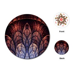 Abstract Fractal Playing Cards (round)