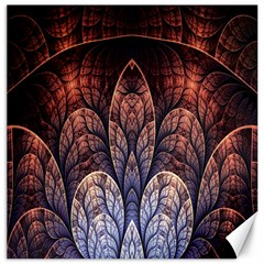 Abstract Fractal Canvas 16  X 16