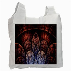 Abstract Fractal Recycle Bag (one Side)
