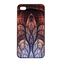 Abstract Fractal Apple iPhone 4/4s Seamless Case (Black)