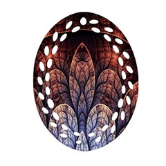 Abstract Fractal Ornament (Oval Filigree)