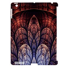 Abstract Fractal Apple iPad 3/4 Hardshell Case (Compatible with Smart Cover)