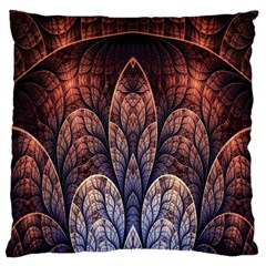 Abstract Fractal Large Cushion Case (Two Sides)