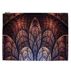 Abstract Fractal Cosmetic Bag (XXL)