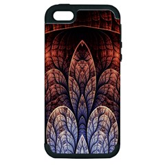Abstract Fractal Apple Iphone 5 Hardshell Case (pc+silicone)