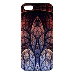Abstract Fractal iPhone 5S/ SE Premium Hardshell Case