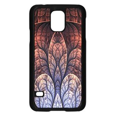 Abstract Fractal Samsung Galaxy S5 Case (Black)