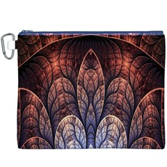 Abstract Fractal Canvas Cosmetic Bag (xxxl)