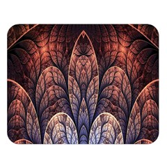 Abstract Fractal Double Sided Flano Blanket (Large)