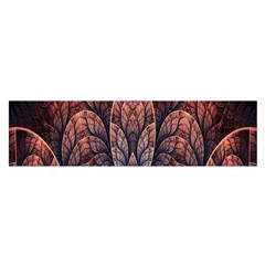 Abstract Fractal Satin Scarf (oblong)