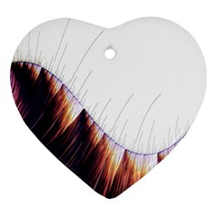 Abstract Lines Ornament (Heart)