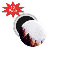 Abstract Lines 1 75  Magnets (10 Pack)
